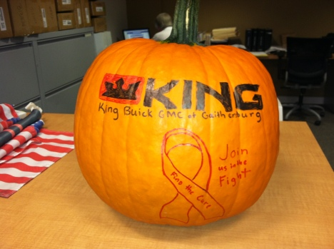 Pumpkin Patch Giveaway at King October 2013